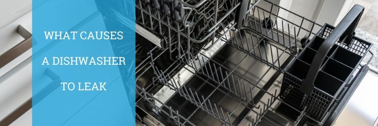 what causes a dishwasher to leak